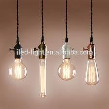 Pendant Light Cable Vintage Edison Pendant Light Light Socket Pendant Cord Cable Black