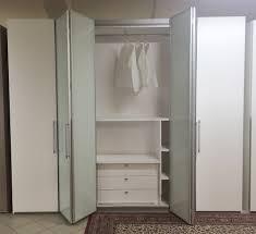 armadio con ante in vetro armadio impiallaciato con ante soffietto vetro a tasso zero