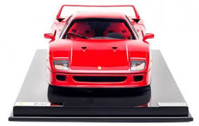 model f40 s limited edition f40 scale model is beautiful autoevolution