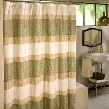 Pink And Yellow Shower Curtain by Fabric Shower Curtain Blue And Brown White Stool White Rings