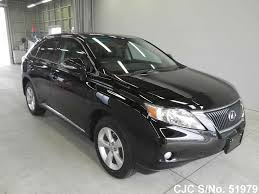 lexus rx 350 used 2009 2009 lexus rx 350 black for sale stock no 51979 japanese used