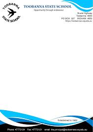 Business Letterhead Design Vector Modern Feminine Letterhead Design For Toobanna State By