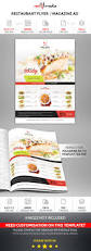 restaurant flyer magazine ad magazine ads print templates and