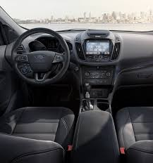ford ranger 2017 interior 2017 ford escape suv features ford com