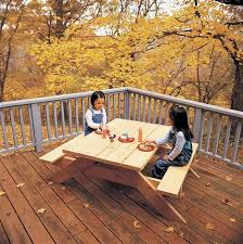 Design For Wooden Picnic Table by 50 Free Diy Picnic Table Plans For Kids And Adults