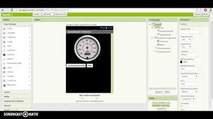 app inventor 2 tutorial how to make a speedometer animation