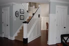 How To Paint Banister Painted Wood Stair Remodel Remodelaholic