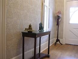 fabric wall covering ideas in hallways corridors or entrance