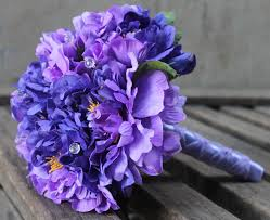 purple carnations silk purple carnation bridal bouquet