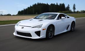 lexus lfa 2012 lexus lfa review car and driver