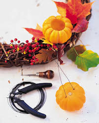 Midwest Chandelier Company Pumpkin Wreath Chandelier Martha Stewart