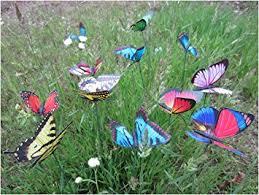 garden butterfly stakes lebeila butterfly garden