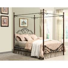 Steel King Bed Frame by Adison Metal King Canopy Bed Walmart Com