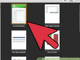 Create An Excel Spreadsheet How To Create An Excel Spreadsheet Annual Budget 15 Steps