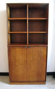 Cabinet And Bookshelf Danish Modern Two Tier Walnut Bookcase And Cabinet 2 Tier Book