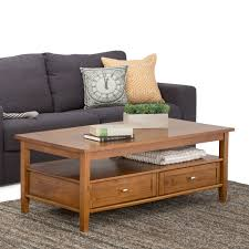 Simpli Home Warm Shaker Tv Stand Belham Living Everett Mission Coffee Table Hayneedle