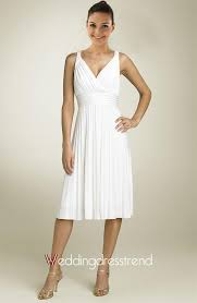 wedding dresses shop online beautiful simple draped v neck tea length wedding dress shop