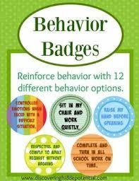 Individual Student Desks Behavior Badges A Student Student Desks And Student