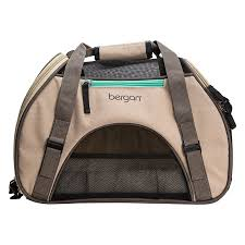 bergan comfort carrier bergan ber 88910 comfort small taupe pet carrier