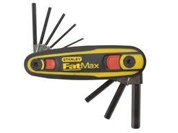 stanley sta097552 fatmax locking hex key set 1 5mm 8mm