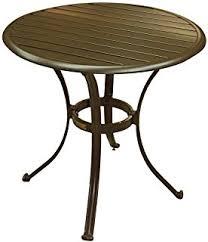 Espresso Bistro Table Mainstays Heritage Park 27 X 27 Patio Bistro Table