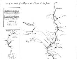 Map Of The Up 1757 Map Of The Mohawk Valley