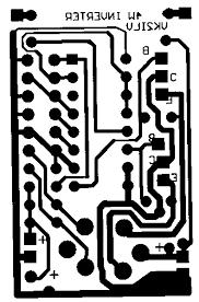 layout pcb inverter inverter 4w pcb gif