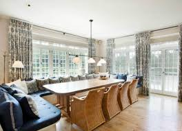 Long Table With Bench Kitchen Kitchen Table With Bench Seating Attractive Kitchen