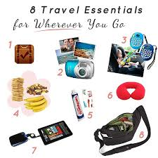 travel essentials images 8 travel bag essentials to take wherever you go daily mom jpg