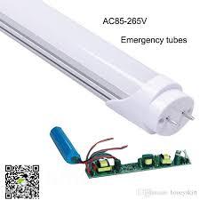 emergency lights with battery backup 2017 top sale ac85 265v 18w 1200mm battery backup led tube lights