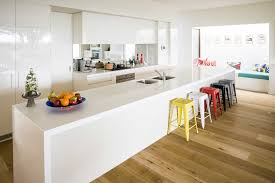 one wall kitchen layout with island decorations striking modern white kitchen with large island and