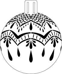 lovely lace ornament stencil 5