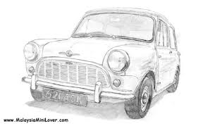 how to draw cars malaysiaminilover