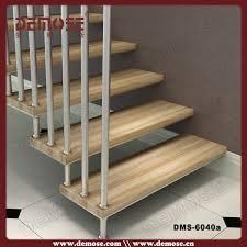 Hanging Stairs Design Modern Hanging Steel Baluster Wood Stairs Buy Wood Stairs Modern