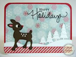 snippets by mendi a trio of echo park happy holiday cards