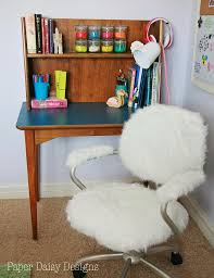 Pottery Barn Office Desk by Furry Desk Chair Pottery Barn Hack With Pottery Barn White Desk