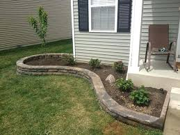 landscape simple backyard landscape ideas for small yards rocking