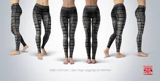 indie rock 80 u0027s cassette tapes womens yoga pants covertsubvert