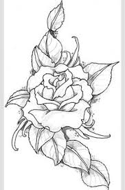 roses drawings simple rose drawing house decor pinterest