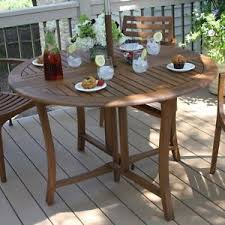 eucalyptus wood dining table outdoor round top patio eucalyptus wood dining table folding leaf 43