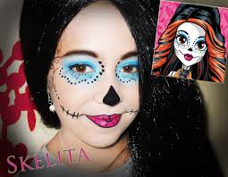 monster high skelita halloween costume tuto halloween maquillage enfant skelita des monster high by