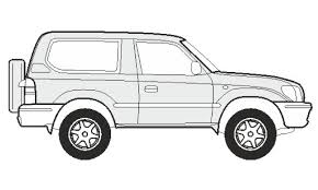 how to draw a toyota land cruiser 300 как нарисовать toyota land