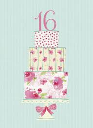 16th birthday cards for girls 16th birthday cards sweet 16