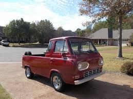 Ford Old Pickup Truck - 1964 ford econoline pickup is an old rod ford trucks com