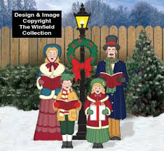 caroling family pattern set winfiel collection