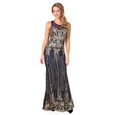 goddiva sequin sweetheart fishtail maxi evening dress prom