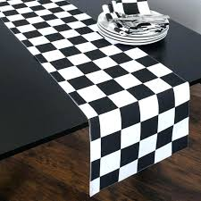 black and white table runners cheap black and white table runners cheap black and white table runner