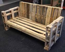 canapé en palette avec dossier canapé chaise banc un meuble en palette pour tous cuboak