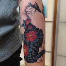happy cat best tattoo design ideas