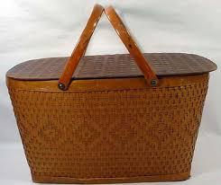 vintage picnic basket vintage picnic basket